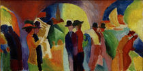A. Macke / Colonnade with Sailing Boat I by AKG  Images