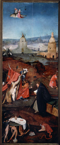 St. Anthony in Reflection / H. Bosch / Triptych by AKG  Images