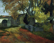 Gauguin / Les Alyscamps / Painting 1888 by AKG  Images