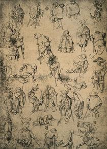H.Bosch, Krüppel, Bettler u. Bettelmus. von AKG  Images