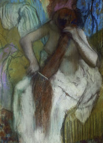 Edgar Degas, Woman Combing her Hair by AKG  Images