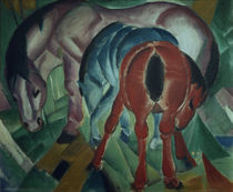 Franz Marc / Mare with Foal / 1912 by AKG  Images