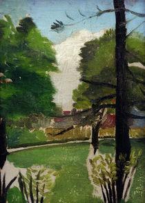H.Rousseau, Ansicht im Park Montsouris von AKG  Images