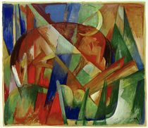 Franz Marc / Mythical Creature II by AKG  Images