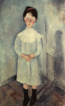 A.Modigliani, Girl in blue by AKG  Images