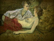 Toulouse-Lautrec / Two Girlfriends by AKG  Images