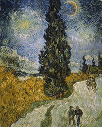 V. van Gogh, Cypress against a starry sky by AKG  Images