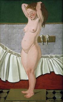 F.Vallotton, Frau im Badezimmer von AKG  Images