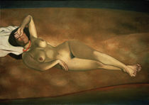 F.Vallotton, Female nude on the beach by AKG  Images