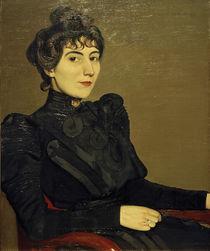 Marthe Mellot, Gemälde von F.Vallotton by AKG  Images