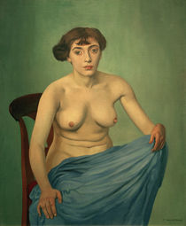 F.Vallotton, Torso with blue cloth by AKG  Images