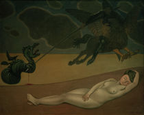 F.Vallotton, Ruggero frees Angelica. by AKG  Images