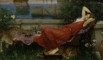 J.W.Waterhouse, Ariadne / painting 1898 by AKG  Images
