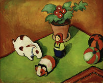 A.Macke, Walterchen's toys / 1912 by AKG  Images