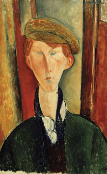 Amedeo Modigliani, Young man with a cap by AKG  Images