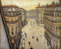 Caillebotte / Rue Halevy / Painting 1878 by AKG  Images