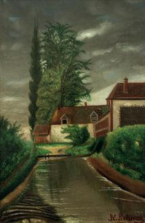 H.Rousseau, Die Wassermühle von AKG  Images