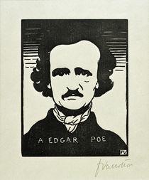 Edgar Allan Poe / Holzschnitt v. Vallotton by AKG  Images