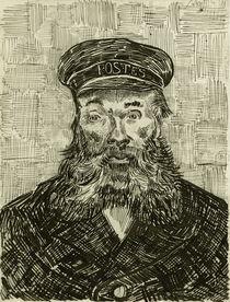 van Gogh, Facteur Joseph Roulin / Draw. by AKG  Images