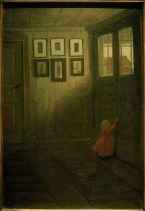 I.Arosenius, Das Mädchen an der Türe by AKG  Images