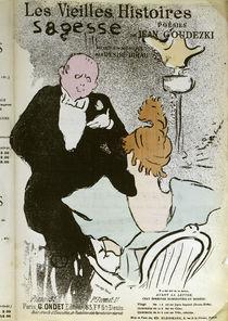D.Dihau, Wisdom / H. de Toulouse-Lautrec  / Lithograph 1893 by AKG  Images