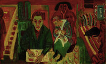 Ernst Ludwig Kirchner, The Living Room by AKG  Images