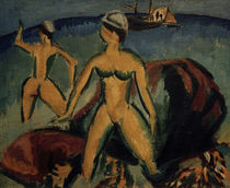 E.L.Kirchner / Bathers (Fehmarn) by AKG  Images