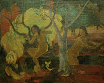 P.Gauguin, Badende auf Tahiti by AKG  Images