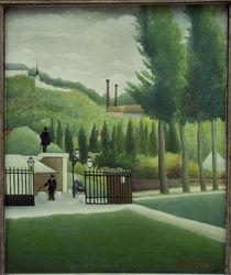 H.Rousseau, Die Zollstation von AKG  Images