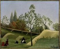 H.Rousseau, Ansicht Befestigungsanlagen von AKG  Images