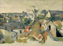 Cézanne / Les Toits /  c. 1898 by AKG  Images