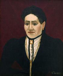 H.Rousseau, Porträt einer Frau von AKG  Images