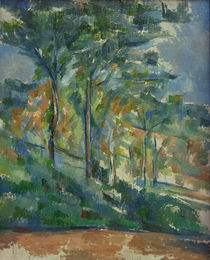 Cézanne / Undergrowth – The Forest by AKG  Images