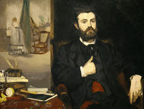 Zacharie Astruc / Painting by Manet /1866 by AKG  Images