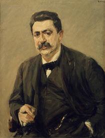 """M.Liebermann, """"Portrait of Dr. Julius Elias"""" / painting by AKG  Images"""