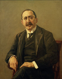 "M.Liebermann, ""Portrait of director Julius Stern"" / painting by AKG  Images"