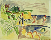 Ernst Ludwig Kirchner, Beach on Fehmarn by AKG  Images