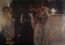Schubert at the Piano / Pain. / Klimt/ 1899 by AKG  Images