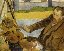 The Painter of Sunflowers / Painting by Gauguin. by AKG  Images