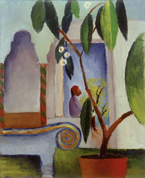 August Macke / Arabic Cafe by AKG  Images