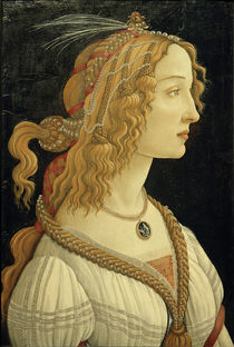 S.Botticelli / Portrait of Simonetta Vespucci as Nymph by AKG  Images