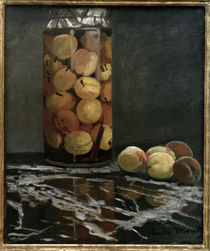 Monet / Glass with Peaches by AKG  Images
