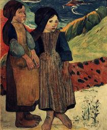 P.Gauguin, Bretonische kleine Mädchen von AKG  Images