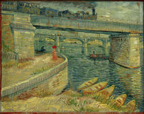 V. van Gogh, The bridges of Asnières by AKG  Images