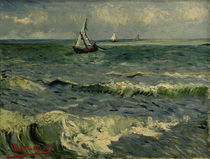 V. van Gogh, Sea at St. Maries / Ptg./1888 by AKG  Images