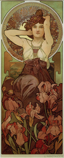 Alfons Mucha / Amethyst by AKG  Images