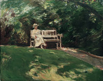 Max Liebermann / the Garden Bench by AKG  Images
