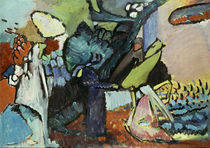 Kandinsky / Improvisation 4 / 1909 (?) by AKG  Images