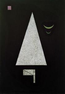 W.Kandinsky, Weiße Schärfe von AKG  Images