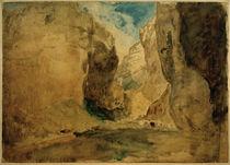 W.Turner, Gordale Scar von AKG  Images
